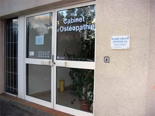 Photo de l'entrée du cabinet du 2 allée des amandiers 13090 Aix-en-Provence